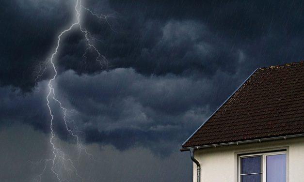 Durch den Starkregen am 10.05.18 entstandene Schäden (SKA)