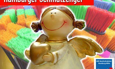 Die 'Schmutzengel' der Hamburger Stadtreinigung (Anfrage der AfD-Fraktion)